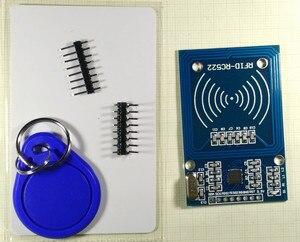 3pcs  RC522 MFRC-522 RFID radio frequency IC card induction module to send S50 fudan card, the key card