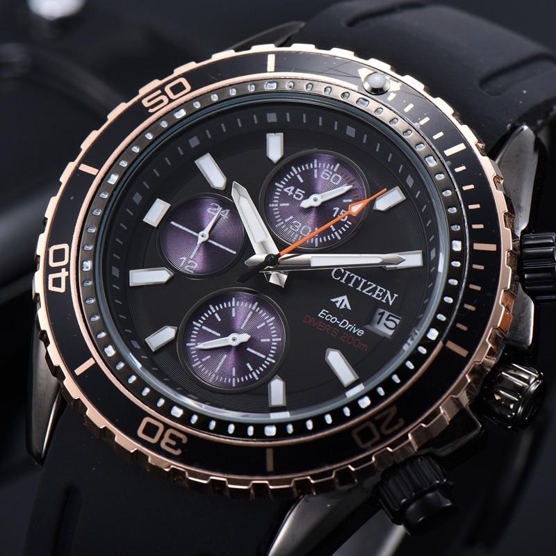 2020 Mens Watches Top Brand Luxury Quartz Multifunction Sports Watch for Men Chronograph  Groomsmen Gifts  Wrist Watch