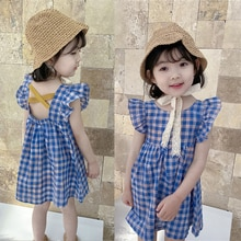 Baby Girls Princess Dress New Sleeveless Summer Floral Dresses Toddler Kid Party Clothes Children Co