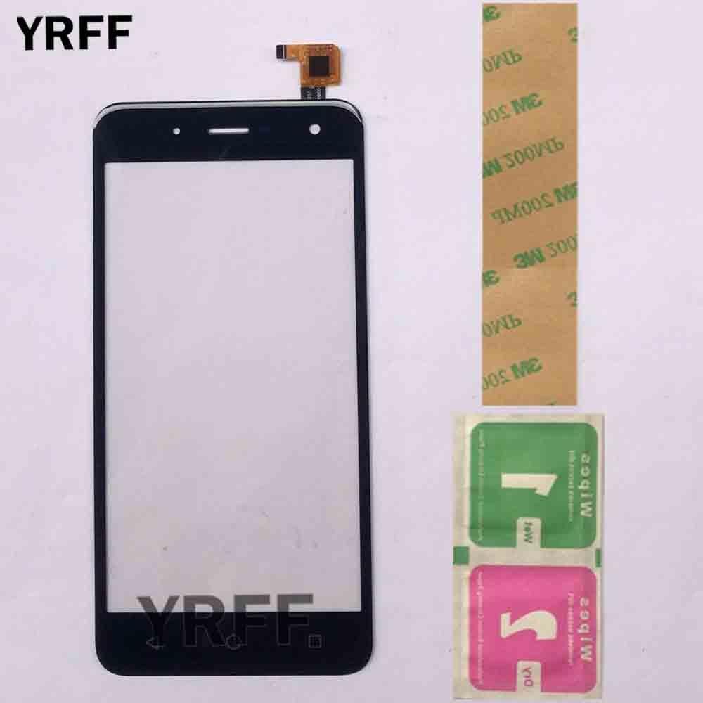 Phone Touch Screen Sensor For BQ BQ-5057 Strike 2 BQs 5057 Touch Panel Digitizer Front Glass Lens Touchscreen 3M Glue