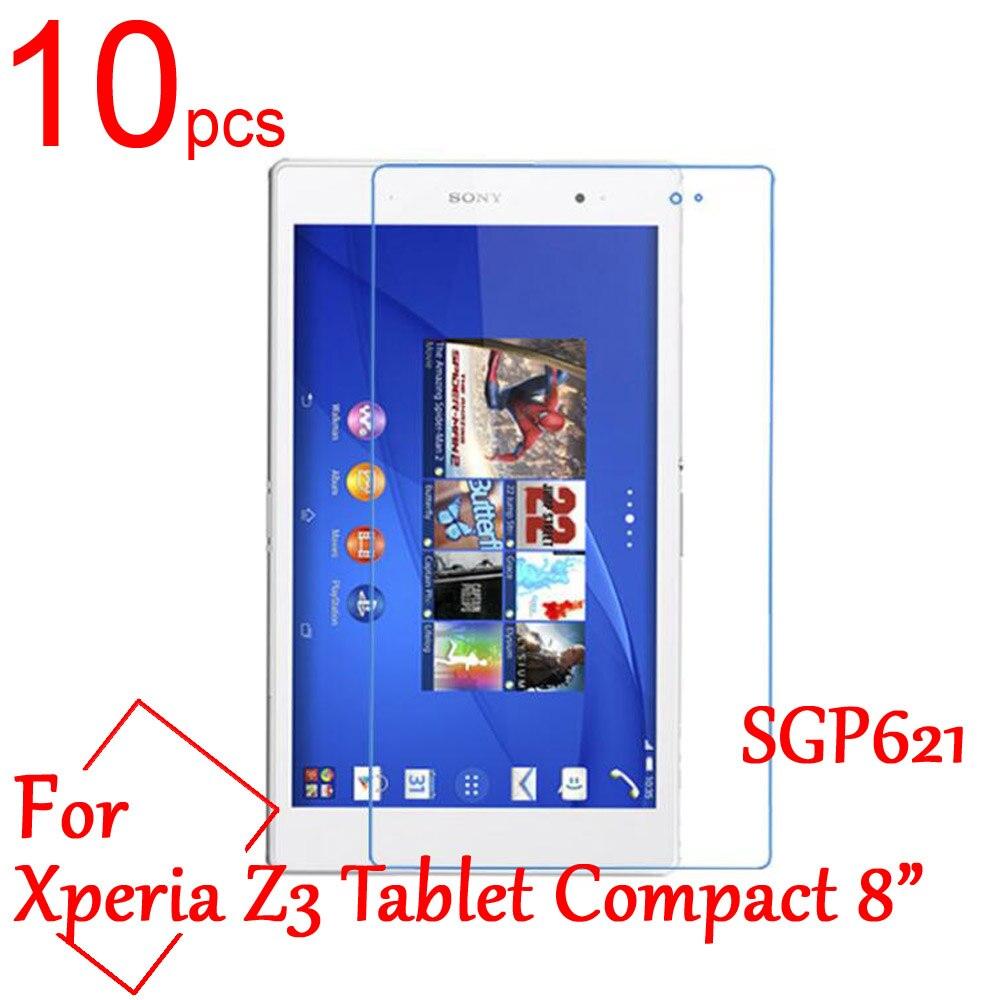 10 Uds. Protector de pantalla Ultra claro/mate/Nano LCD para sony Xperia Z3 Tablet Compact 8 pulgadas sdp621 laptop película protectora