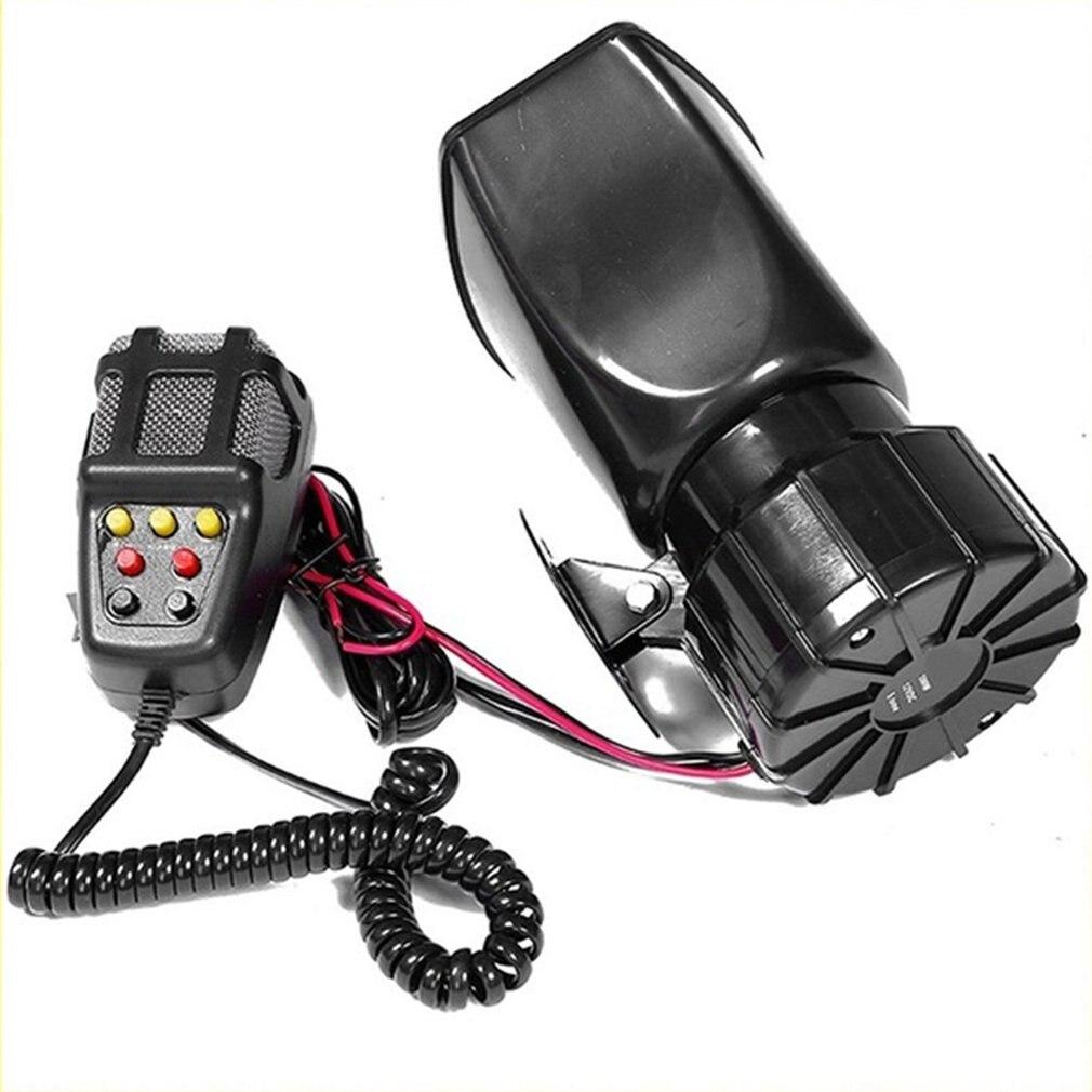 100 Вт 12 в 7 звуковая Громкая Автомобильная сигнализация полицейская пожарная сирена PA динамик микрофон Система Автомобильный мотоцикл рог 7 тон сирена Рог