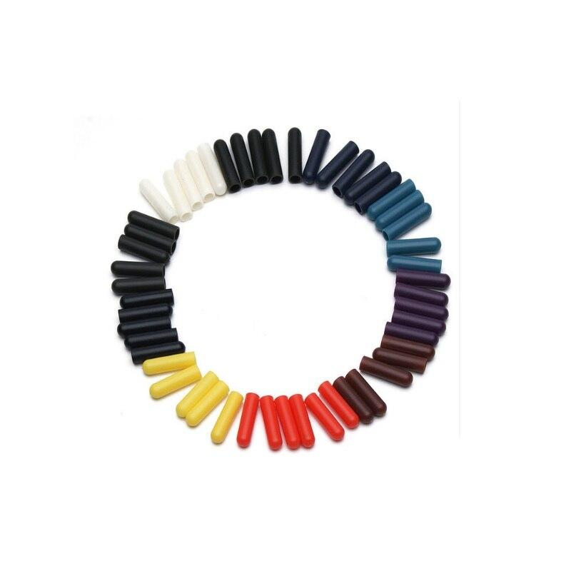 Cabeça para Shoestrings Aglets de Bala Lote Sapatos Acessórios Faça Você Mesmo Dicas Cadarço Mulheres Unsex Substituição Cadarços 1000 Pçs – 4x22mm