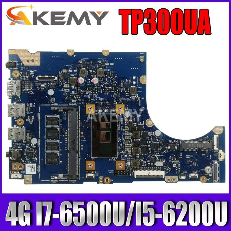 TP300UA Q302UA اللوحة لابتوب ASUS Q302U Q302UA TP300U TP300UA TP300U اللوحة 4G I7-6500U I5-6200U 100% اختبار