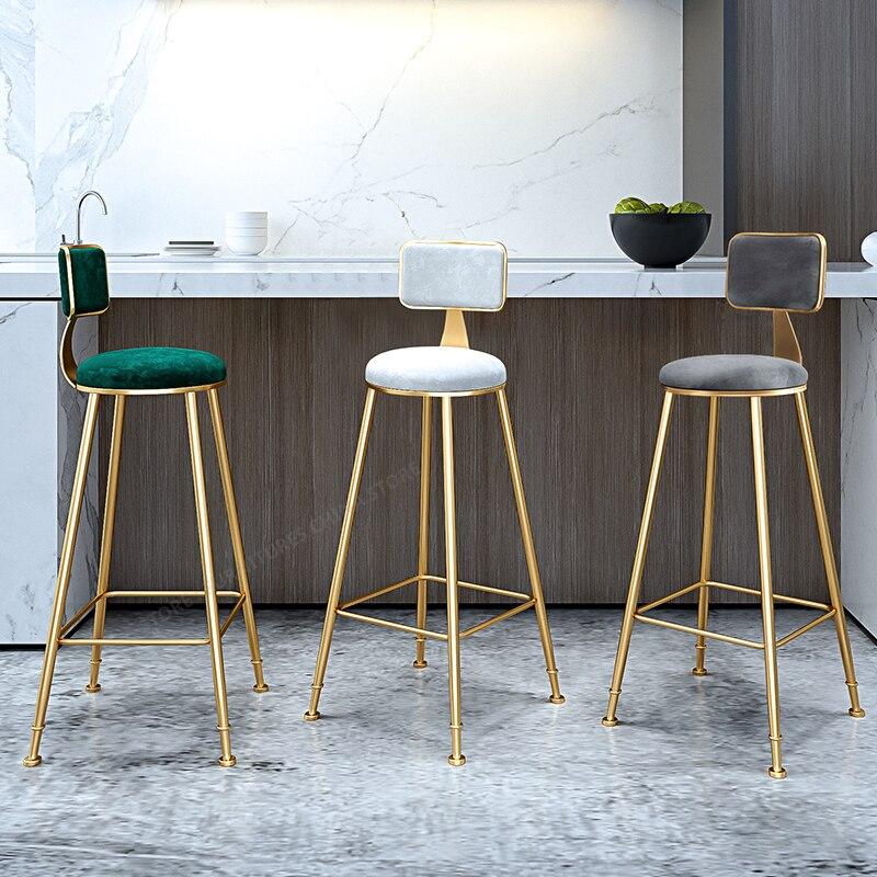 Фото - Стул барный, барный, барный стул, сиденье, барная мебель, стул для макияжа, мебель для салона красоты, скандинавский стиль, Ins, простой, для отд... барный стул лайф мебель барный стул marvin