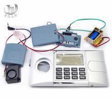 Pantalla LCD caja de seguridad de Panel electrónico segura cerradura pistola cerradura electrónica para armario archivador cerradura con contraseña
