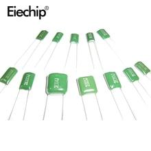 620 шт./лот 31 значение 100 в майларовая пленка конденсатор Ассорти набор 100nf 220PF 560PF 68NF конденсаторы набор 0.22NF-470NF конденсатор пакет