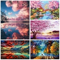 scenery paint by numbers for adults drawing on canvas home decor %d0%ba%d0%b0%d1%80%d1%82%d0%b8%d0%bd%d1%8b %d0%bf%d0%be %d0%bd%d0%be%d0%bc%d0%b5%d1%80%d0%b0%d0%bc 4050 room wall art painting number