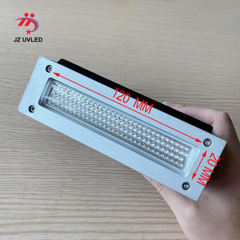 120 مللي متر مروحة UV الحبر علاج مصباح ل Maxcan طابعة مسطحة Ricoh GH2220 EPSON DX5 رئيس علاج الأشعة فوق البنفسجية XP600 LED أضواء 39nm
