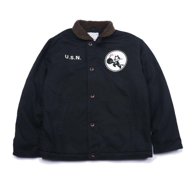 Мужская куртка Тедди мишка шерпа команда лидер на молнии куртка USN Ретро военная зимняя куртка плотный хаки
