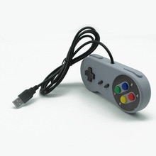 Usb nes ordinateur poignée ordinateur ordinateur jeu contrôleur usb nes poignée NES Superman poignée