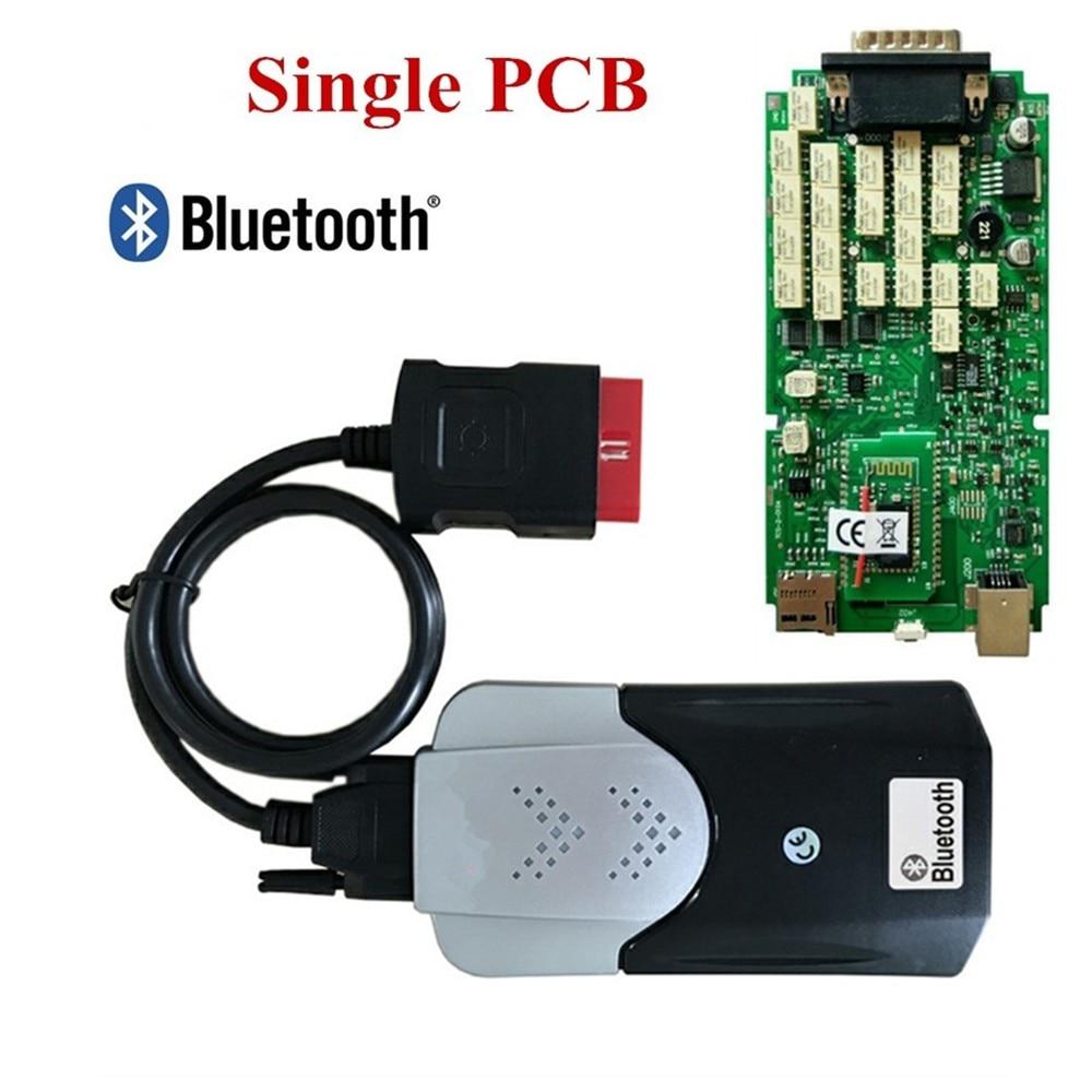 DHL mejor placa única nuevo ne c relé Bluetooth para delphis vd ds150e 2016,0 R0 con keygen mejor que Multidiag pro +