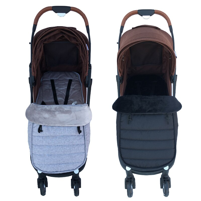 Baby Stroller Sleeping Bag Pram Warm Footmuff Cotton Envelope Sleepsacks For Yoyaplus and Universal Stroller Accessories