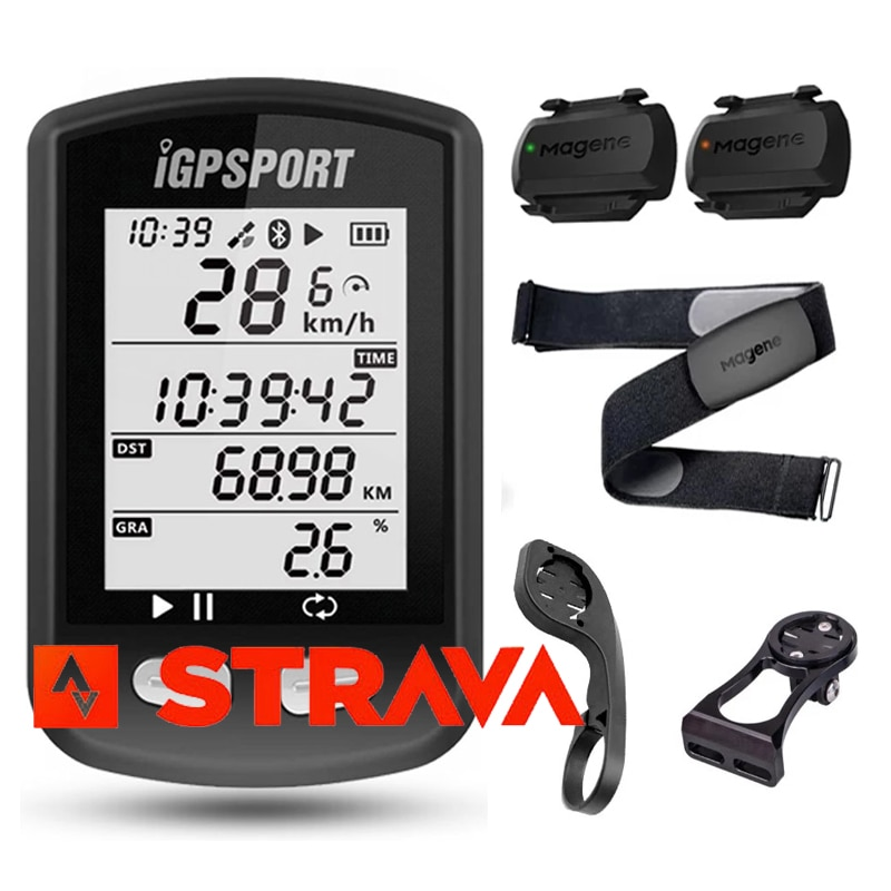 IGPSPORT Smart Bike Computer Wireless Speedometer For Mountain Road Bicycle Odometer 2.2in Waterproof GPS Cycling Cyclocomputer