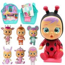 Pleurer bébé poupées bébé garçon anime surprise poupée magique MGA figure action il va verser des larmes pour les enfants fille cadeaux danniversaire jouets
