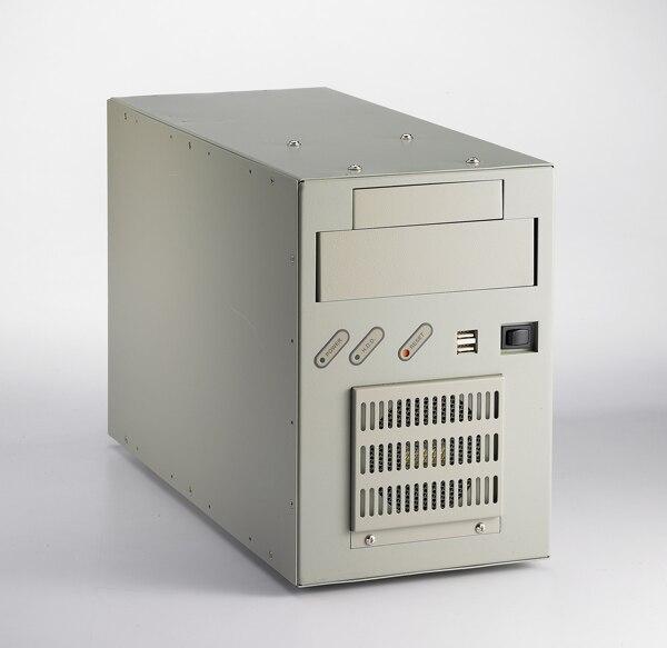 دفانتيتش IPC-6606P3-30CE 6-فتحة سطح المكتب جدار جبل الشاسيه هيكل الكمبيوتر الصناعي