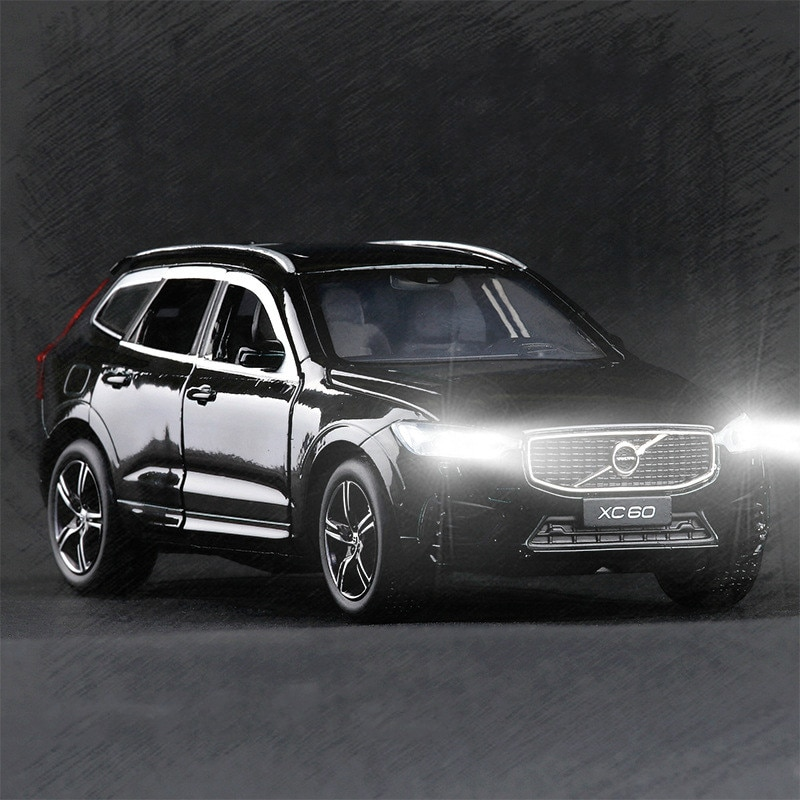 1/32 VOLVO XC60 vehículo todoterreno aleación de Zinc tirar atrás coche modelo vehículos de juego colección de regalos para niños