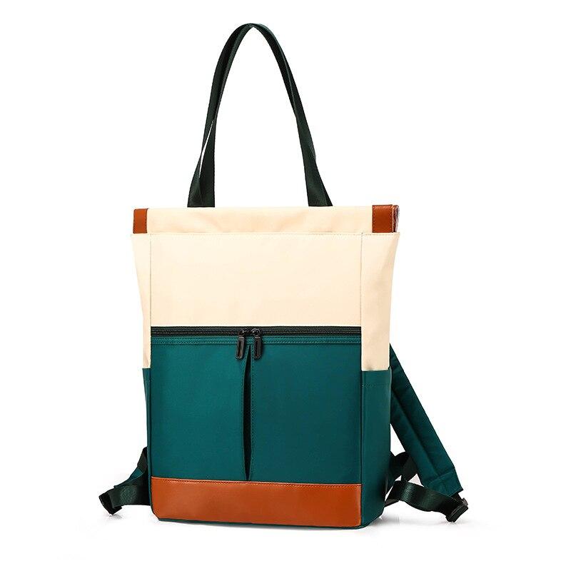 New Large Capacity Women's Shoulder Bag Waterproof Nylon Cloth Bag Lightweight Outdoor Crossbody Bag Lady Temperament Backpack недорого
