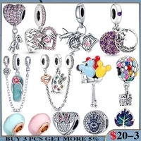 925 sterling silver tree of life pendant drawing board charms beads for original pandora bracelet bangle making female jewelry