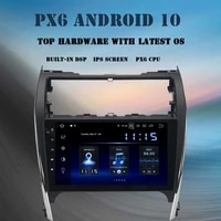 10 2 android 10 car multimedia player for toyota camry 2012 2013 2014 radio usmiddle east version dsp carplay navigator