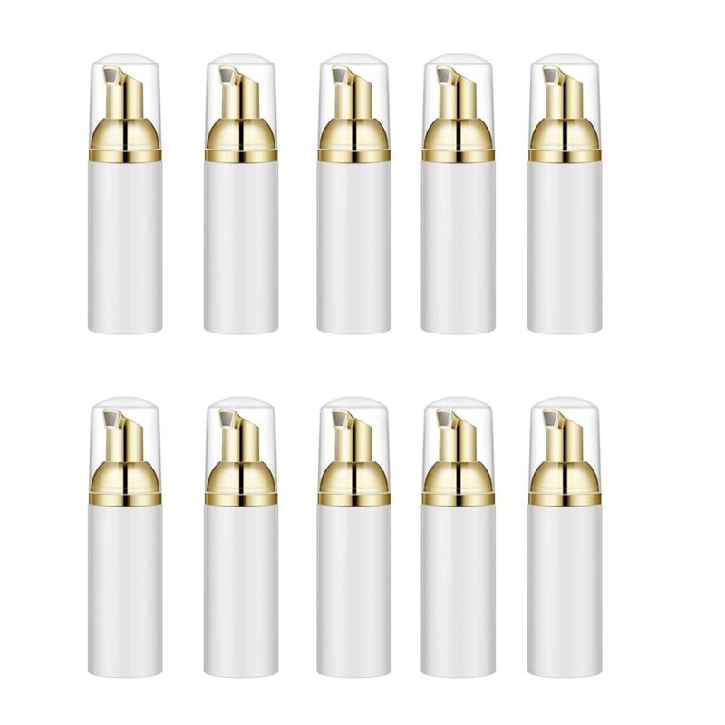 10 шт. 30 мл пластиковые бутылки для вспенивания мыла муссы дозатор жидкости, пена Шампунь Лосьон Бутылки пены