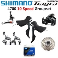 shimano tiagra 4700 groupset 4700 derailleur road bicycle 2x10 speed 20s derailleur kit 11 25 12 28 11 32t