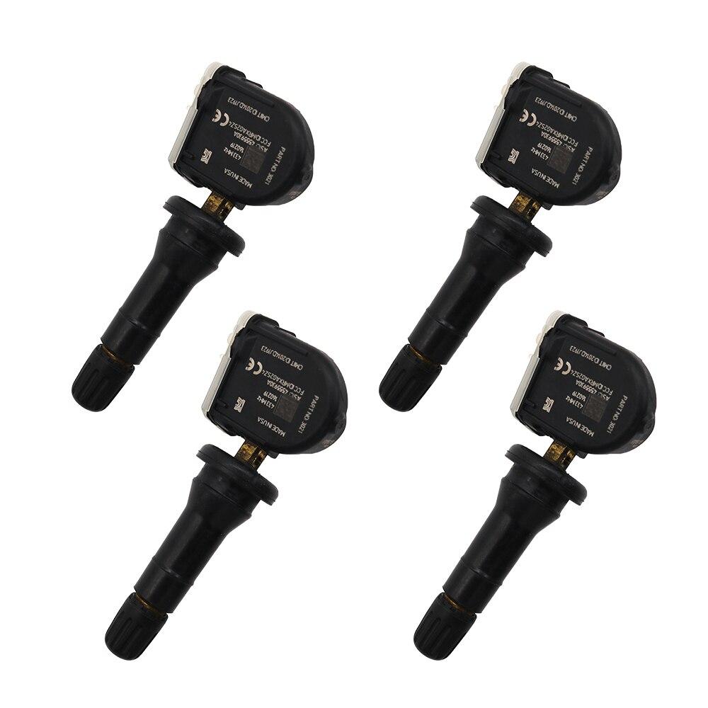 Neumático de Sensor de presión para 2014-2022 Ford Ranger Ford Ecosport Fiesta Focus 433MHz TPMS sistema de supervisión de presión de neumáticos EV6T-1A180-CB