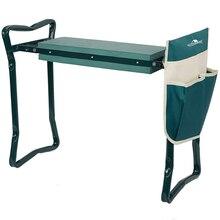 Garten Knie und Sitz Klapp Edelstahl Garten Hocker mit Werkzeug Tasche EVA Kniend Pad Gartenarbeit Geschenke Versorgung