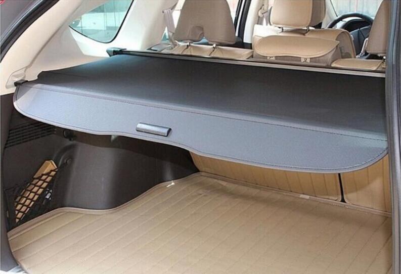 High Qualit Car Rear Trunk Cargo Cover Security Shield Screen shade Fits For Skoda Yeti 2014 2015 2016(black, beige) enlarge