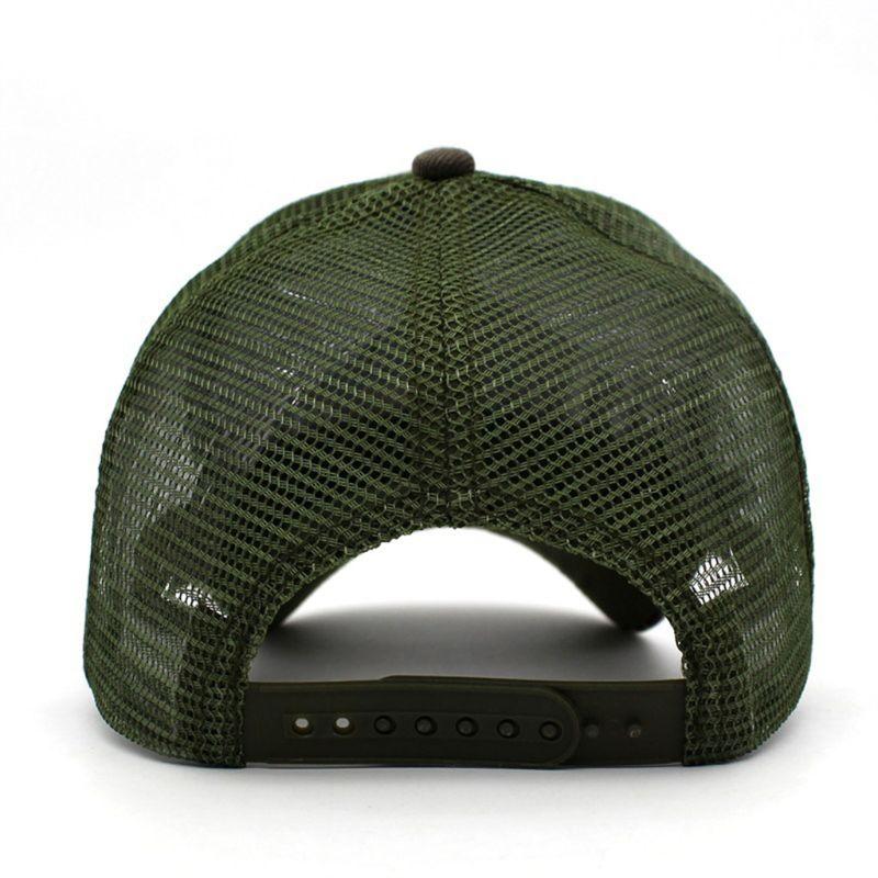 Camuflaje gorra de béisbol Camo malla sombrero al aire libre caza Camping sombrero táctico PXPF