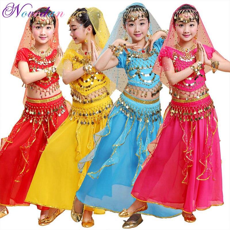 Набор костюма для танца живота для танцев для маленьких девочек костюмы для танца живота одежда для танца живота, костюмы для танца живота д...