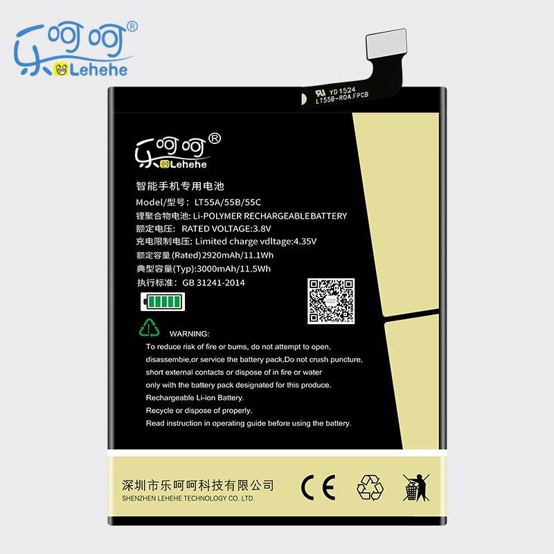 LEHEHE батарея для Letv LT55A Le 1 pro X800 Le one pro X800 3000 мАч запасная батарея высокое качество бесплатная инструменты доставка подарки