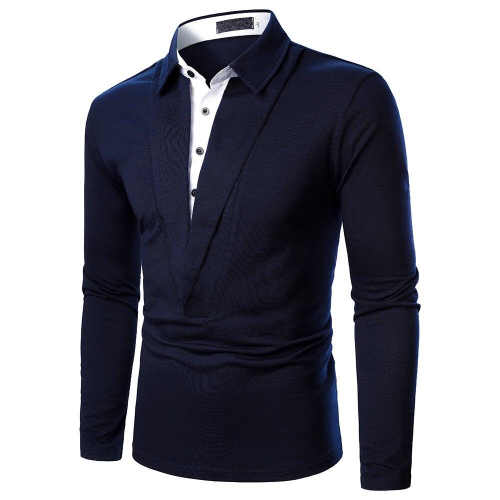 aliexpress.com - New Men's Polo Shirt Men's Leisure Deer Embroidery Cotton Polo Shirt Men's Long Sleeve Large Batch Polo Shirt Men's