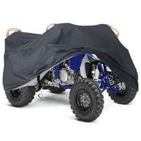quad bike atv cover universal 190t waterproof dustproof anti uv motorcycle cover case for yamaha yfz 450%e2%80%8b atv scooter