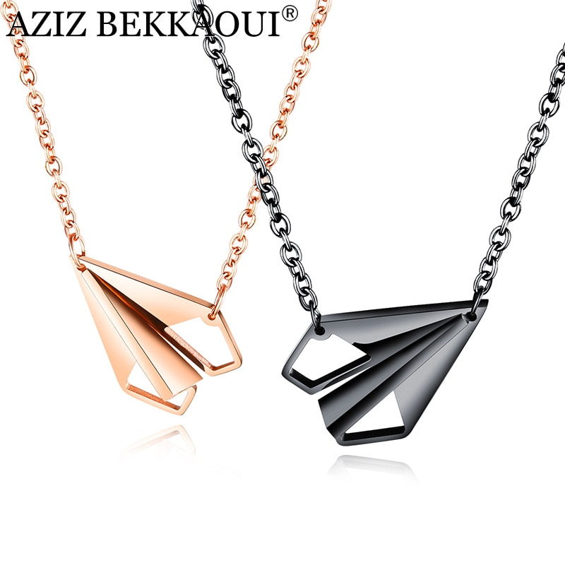 Colar de colar de aço inoxidável colar de colar de aço inoxidável para mulheres