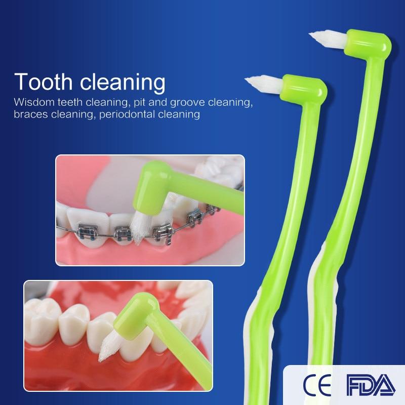 Cleaners Floss Interdentalbürste Weichen Borsten Kieferorthopädische Hosenträger Reinigung Zahnbürste Schwelle Zahn-Floss Oral-Pflege Zähne-Reinigung