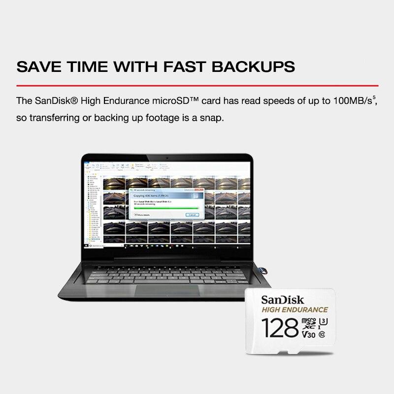 High Enduran SanDisk Memory Card High Endurance  32GB 64GB MicroSD Card SDHC/SDXC Class10 100MB/s TF Card for Video Monitoring enlarge