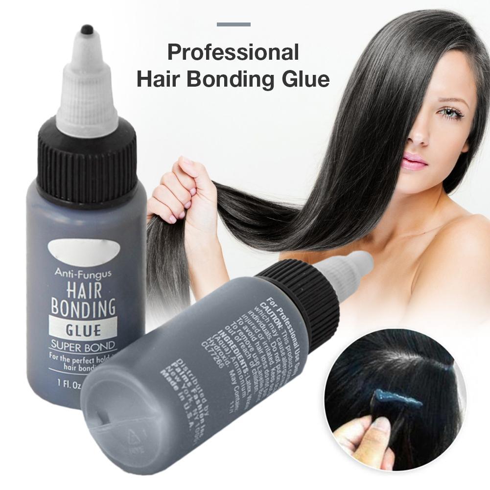 1 Bottle Hair Tools Hair Bonding Glue Super Bonding Liquid Glue For Weaving Weft Wig Hair Extensions