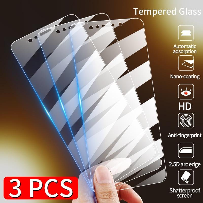 Película de vidrio templado para Huawei P40 P30 Lite P20 Pro P, Protector de pantalla inteligente 2019, cristal Protector para Huawei Mate 10 20 3 uds.