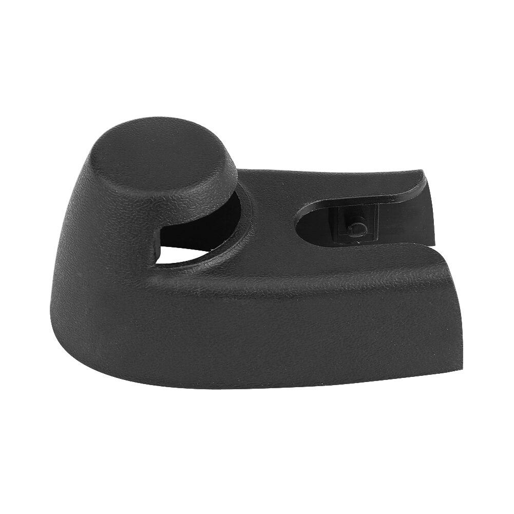 Cubierta para brazo del limpiaparabrisas trasero de coche, de plástico negro, para Seat Altea 5P Ibiza 6L 6J Leon 1P Toledo 2006-2013 5P0955435B