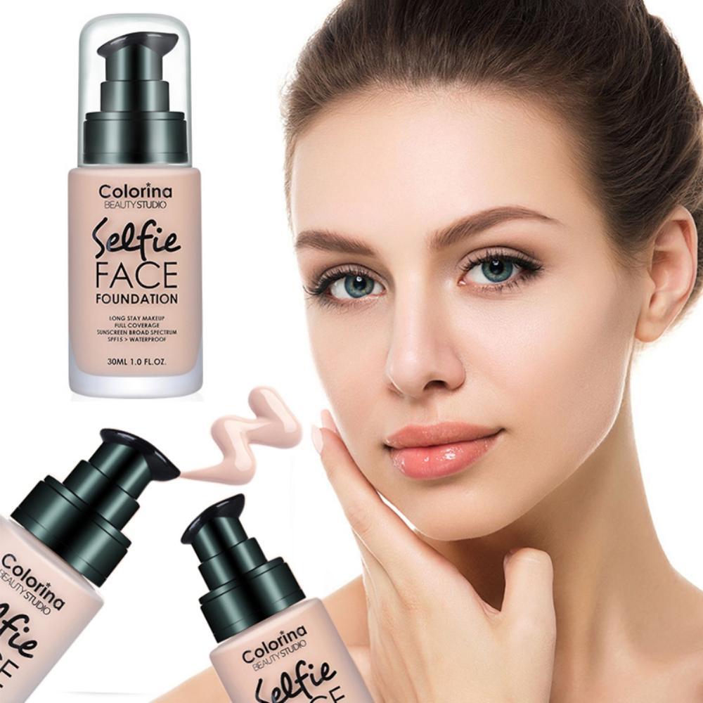 Base de maquillaje cara profesional acabado mate líquido maquillaje corrector crema hidratante Natural impermeable MKXJ