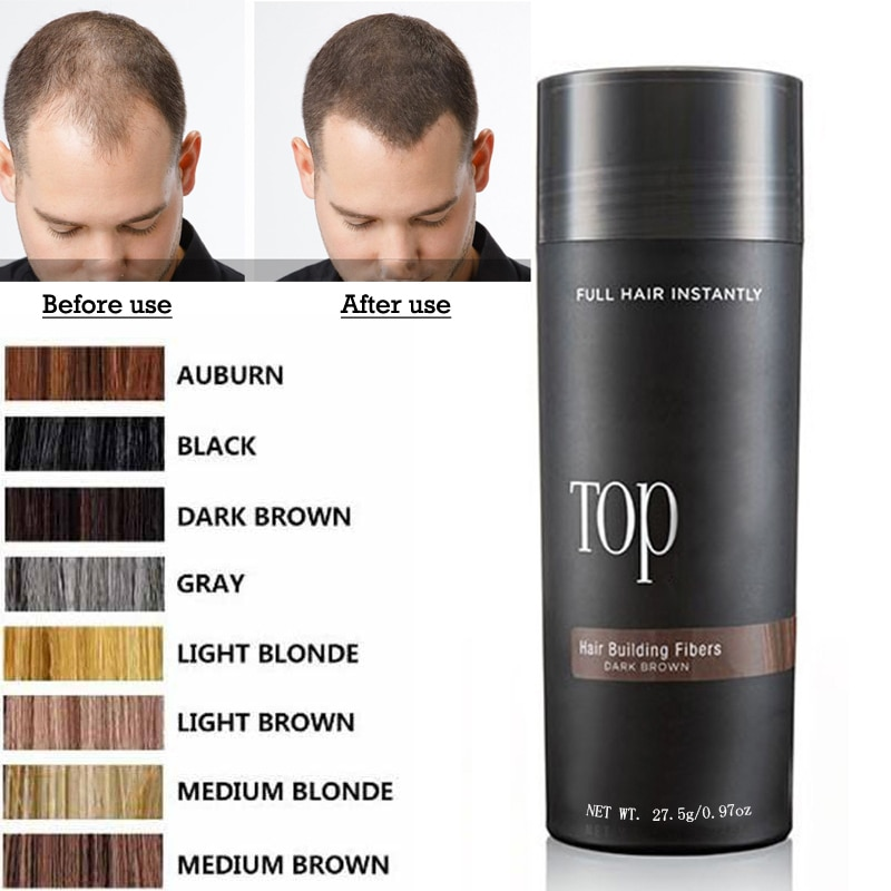 Hair Fibers Keratin Thickening Spray Hair Building Fibers 27.5g Loss Products Instant Wig Regrowth P