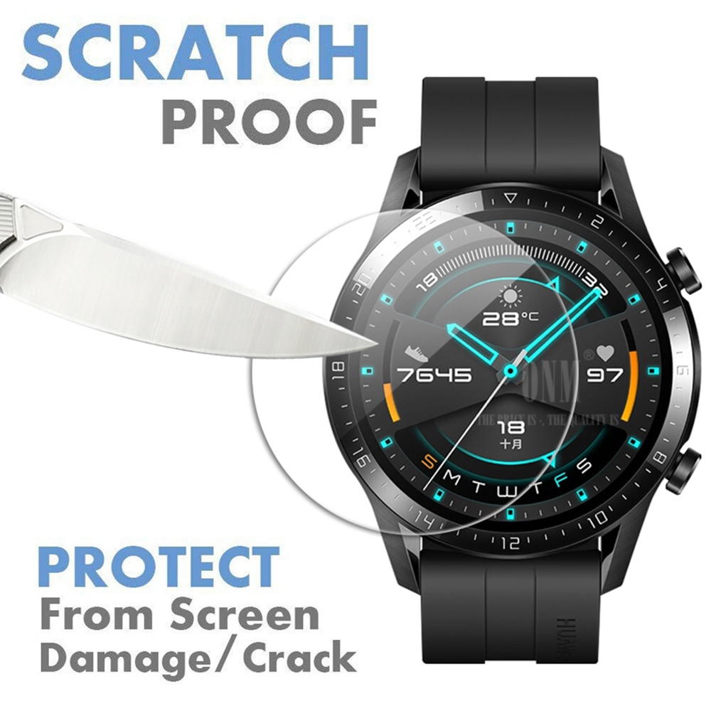 9H Premium Tempered Glass For Huawei Watch Gt GT 2 46mm Smartwatch Screen Protector Explosion-Proof