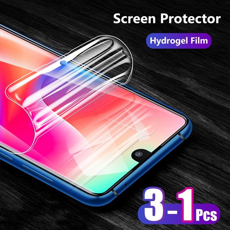 Противоударная Защитная пленка для экрана Sharp Aquos S2/S3/S3 Mini, мягкая Гидрогелевая пленка с полным покрытием спереди