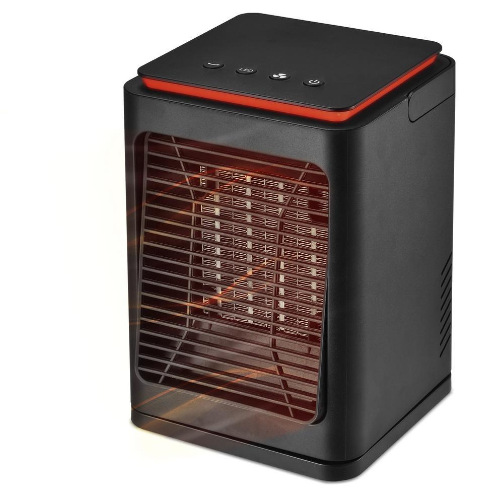 1000/1200 Вт портативный мини-электрический обогреватель вентилятора для дома, спальни, офиса, для помещений, зимний подогреватель для ног, для ...