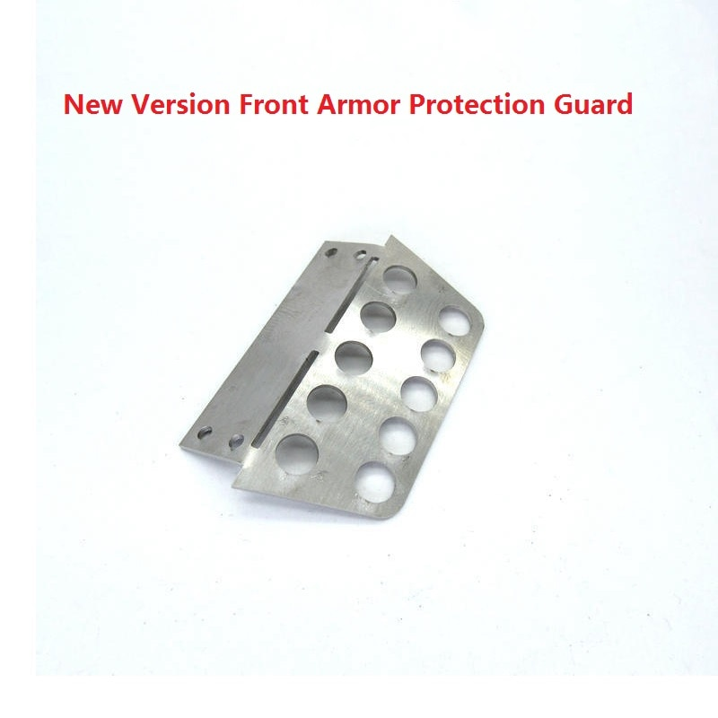 Metal Front Bumper with Front Protection Armor for MN Model D90 D91 D99S M 1/12 RC Car Upgrade Parts Accessories enlarge