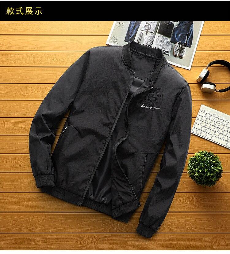 Мужская модная одежда, трендовая Мужская зимняя одежда больших размеров, Мужская Утепленная бейсбольная куртка в Корейском стиле на осень ...