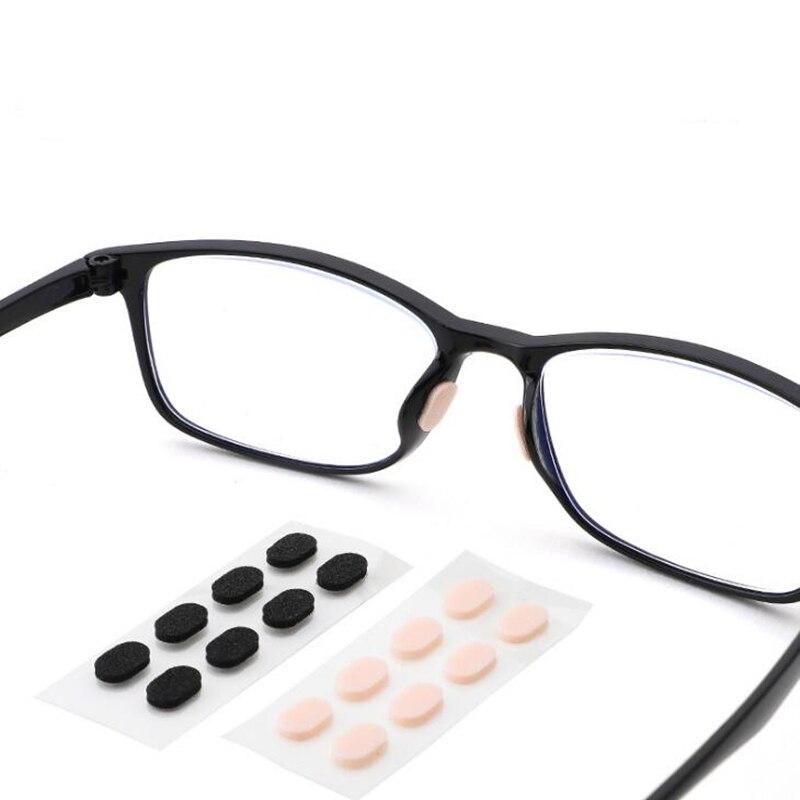 ZXTREE 4 pares de esponja suave EVA, almohadilla de nariz para lentes, cómoda antideslizante, almohadilla de nariz para lentes, accesorios, ZNS45
