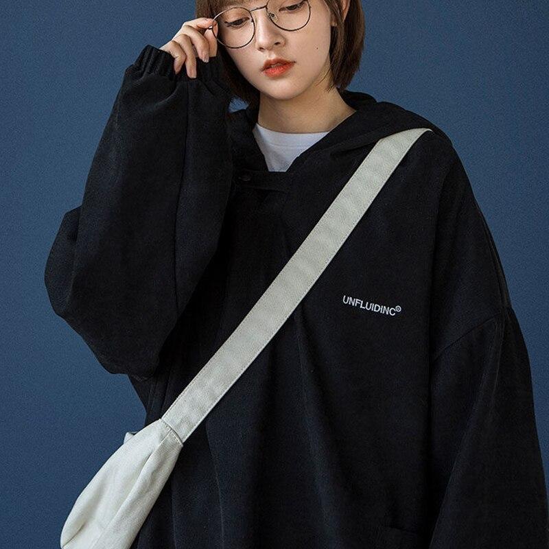 Autumn Female sweatshirt jacket Korean loose Harajuku  Oversized hoodie Kawaii Woman clothes vintage coat top clothes pullovers