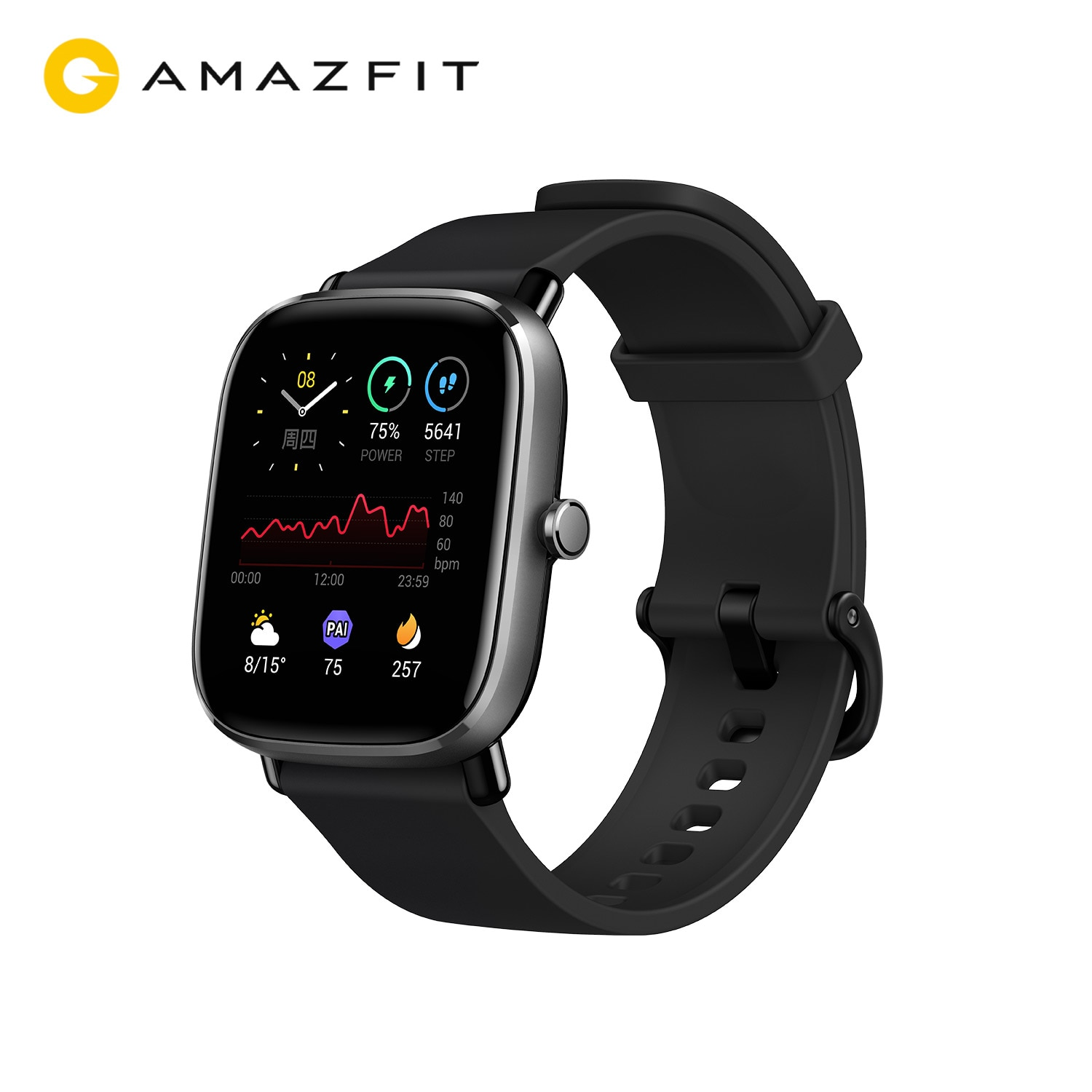 Original Amazfit GTS 2 Mini Smartwatch 70 Sports Modes Sleep Monitoring GPS AMOLED Display SmartWatch For Android For iOS